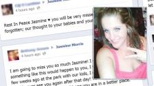 Jasmine Morris Facebook tributes