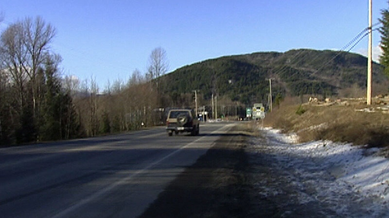 The Highway of Tears is seen in this file photo.