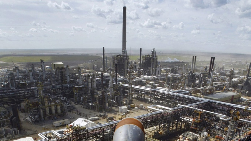 Image result for alberta sand refining facility