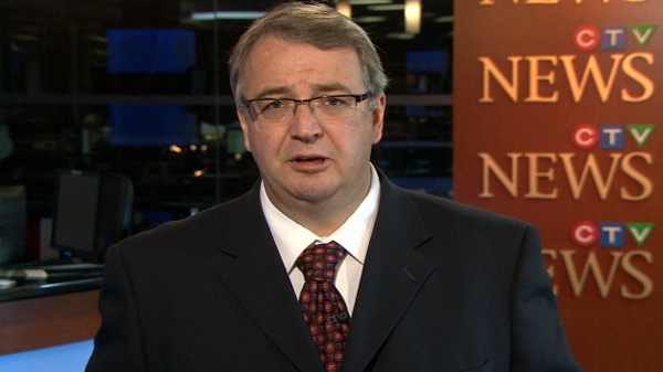 Dan McTeague, Liberal MP for Parliament for Pickering-Scarborough East, speaks with CTV News from studios in Toronto, Friday, Sept. 24, 2010.