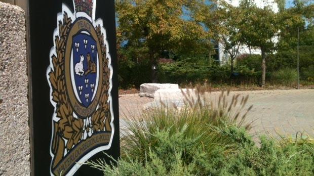 Waterloo Regional Police headquarters is seen on Tuesday, Sept. 25, 2012.