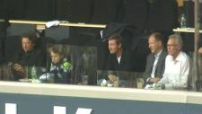 Daryl Katz, Wayne Gretzky, Kevin Lowe, Craig MacTavish