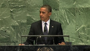 CTV News: Obama sends two messages in UN speech