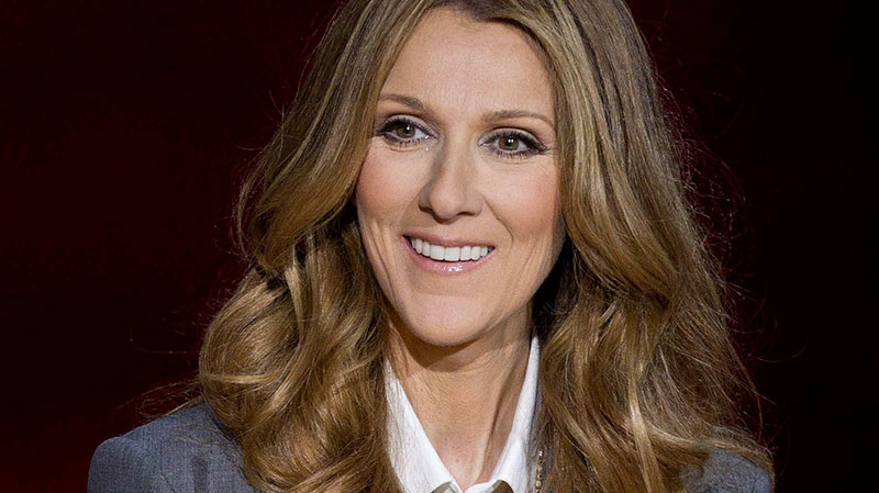 In this Tuesday March 15, 2011 file photo, Celine Dion answers questions during a press conference after her opening night performance at Caesar's Palace in Las Vegas.  (AP / Julie Jacobson, File)