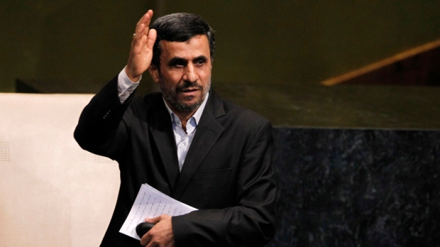 Iran space astronaut Ahmadinejad