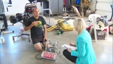 Marten DeVliege speaks to CTV's Alberta Bureau Chief Janet Dirks on Sept. 26, 2012.