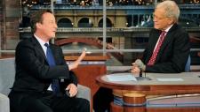 Cameron on Letterman