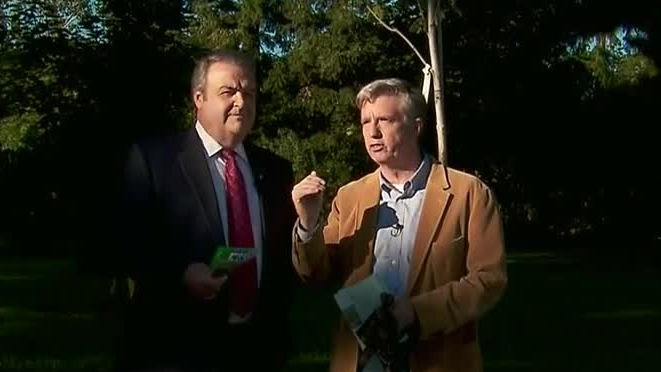 Mark Cullen shared his thoughts on the importance of tress in a garden on Sept. 27, 2012 on CTV's Canada AM.
