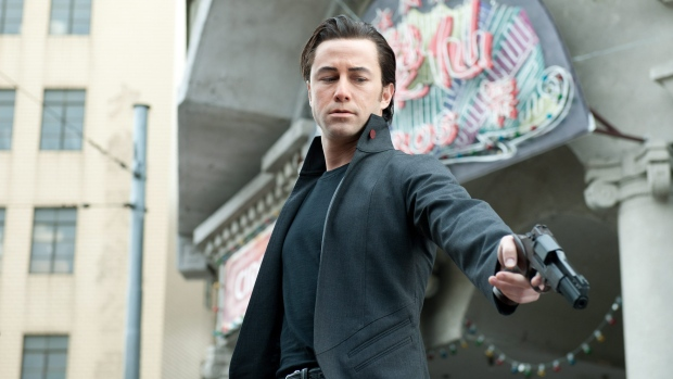Joseph Gordon-Levitt in a scene from Alliance Films' 'Looper.'