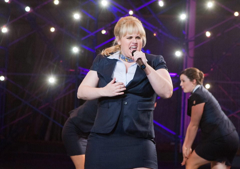 Rebel Wilson portraying Fat Amy in a scene from Universal Pictures Canada's 'Pitch Perfect.'