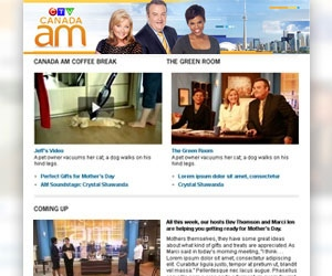 Canada AM newsletter