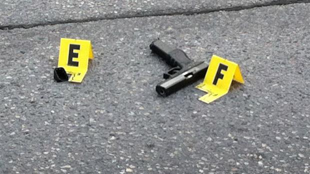 Gun near Hector and Stafford in Winnipeg