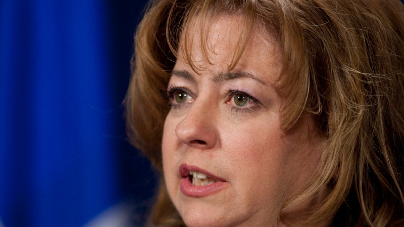 Sylvie Roy, MNA for the Coalition Avenir Quebec, seen here in a CP file photo, slammed Boisclair's comments Thursday.