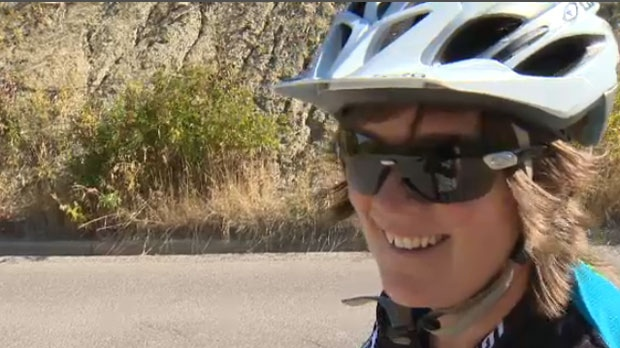 Heather Dougall is a cancer survivor.  She'll be celebrating that fact when she takes part in a cross continent cycling trip.