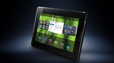 This product image provided by Research In Motion, shows the new Playbook. (AP Photo/Research In Motion)