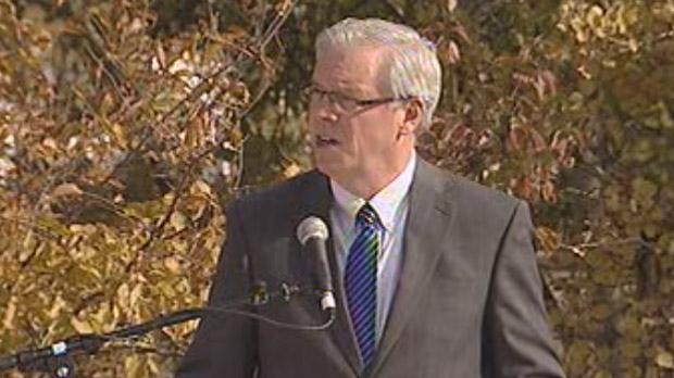Manitoba Premier Greg Selinger