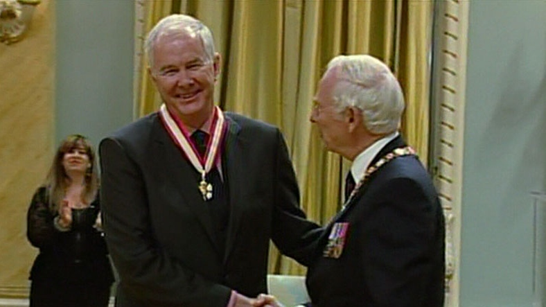 John Furlong was presented with the Order of Canada in 2011. (CTV)