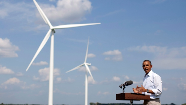 Wind farm, Barack Obama