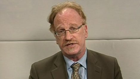 Osgoode Hall law professor Alan young appears on CTV's Power Play from Toronto, on Tuesday, Sept. 28, 2010.
