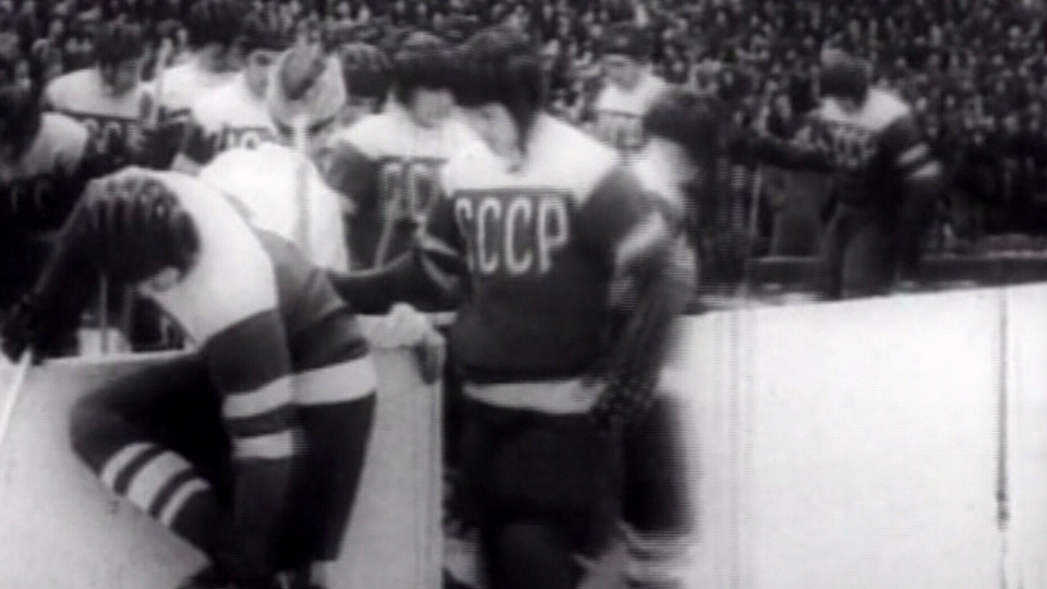 Anatoli Tarasov employed soccer tactics in Russian hockey, working out new strategies like doubling back with five-man units completely involved in the play.