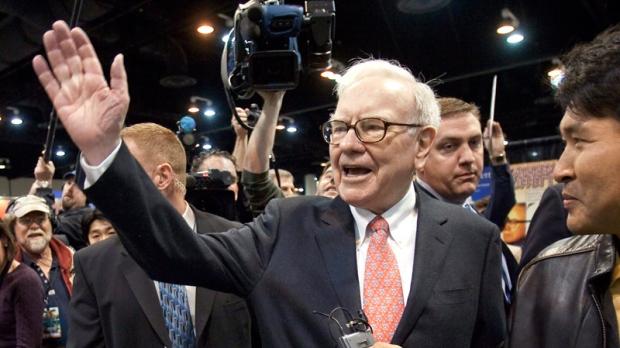 Warren Buffett in Omaha, Neb. on May 2, 2009.