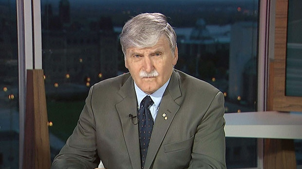 Liberal Senator and retired Lt.-Gen. Romeo Dallaire appears on Canada AM, Monday, Oct. 1, 2012.