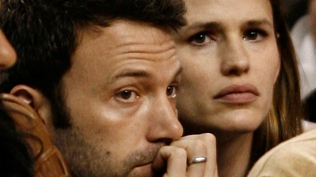 Ben Affleck and Jennifer Garner in Boston on May 17, 2009.