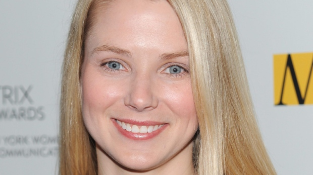 Marissa Mayer in New York on April 19, 2010.