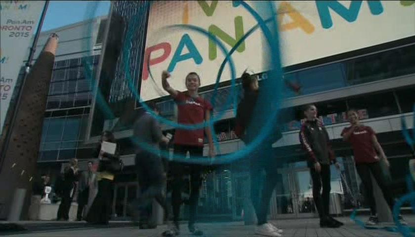 Official logo of The Toronto 2015 Pan/Parapan American Games.