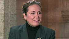 Former Parliament Hill staff member Laurie Pinard appears on CTV's Power Play on Monday, Oct. 1, 2012.