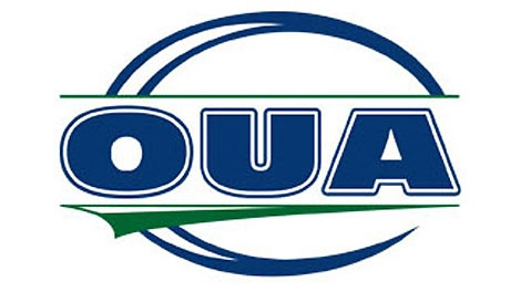 Ontario University Athletics; OUA logo