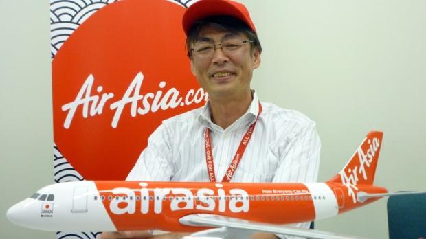 AirAsia Japan President Kazuyuki Iwakata in Tokyo on Sept. 28, 2012.