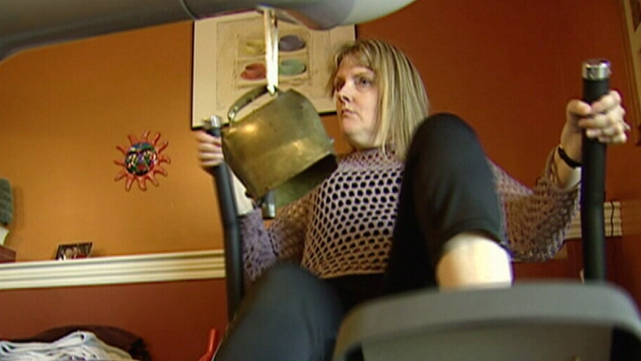 Sandra Nette is still recovering from a stroke that left her unable walk and barely speak.