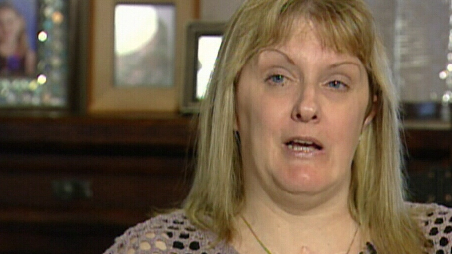 Sandra Nette is seen speaking to CTV News in this undated image taken from video about her recovery.