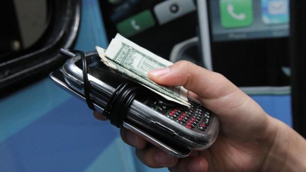 New York City cellphone valets