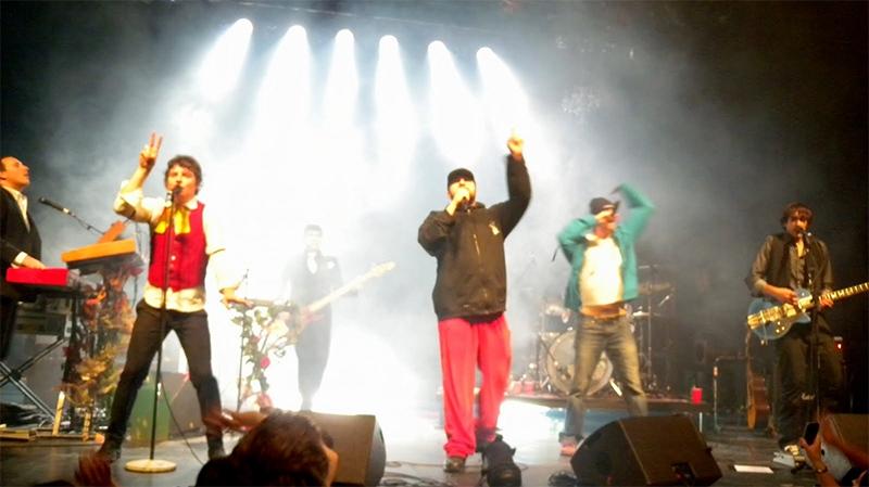 Loco Locass, a Quebec hip hop group