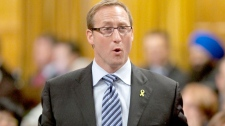 Minister of National Defence Peter MacKay responds to a question during Question Period in the House of Commons on Parliament Hill in Ottawa, Tuesday Sept. 28, 2010. (Adrian Wyld / THE CANADIAN PRESS)