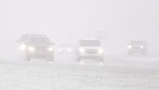WInter weather strikes Manitoba