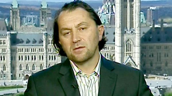 Imam Zijad Delic speaks to CTV News Channel from Ottawa on Saturday, Oct. 2, 2010.