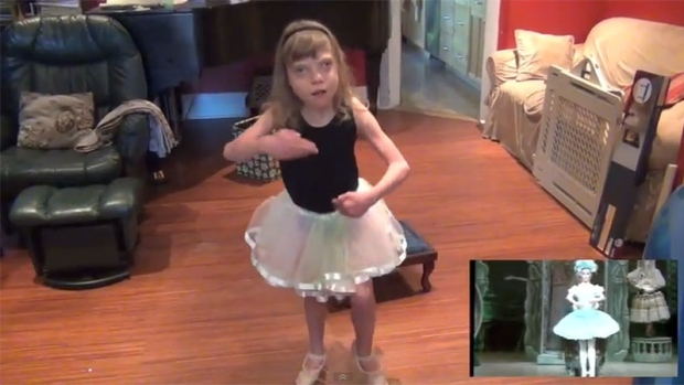 Autistic ballerina inspires others