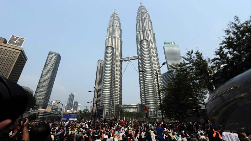 The Petronas Twin Towers in Kuala Lumpur, Malaysia (AP Photo)
