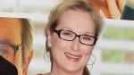 """This Aug. 6, 2012 file photo originally released by Starpix show actress Meryl Streep at the premiere of the Columbia Pictures film """"Hope Springs,"""" at the SVA Theatre in New York. (AP Photo/Starpix, Dave Allocca)"""