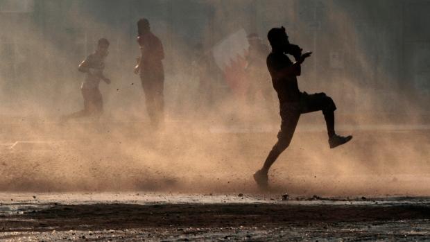 Bahraini anti-government protesters