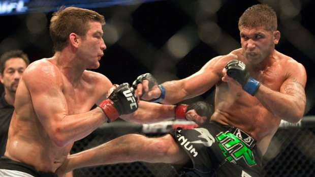 Sam Stout and Jeremy Stephens in 2010.