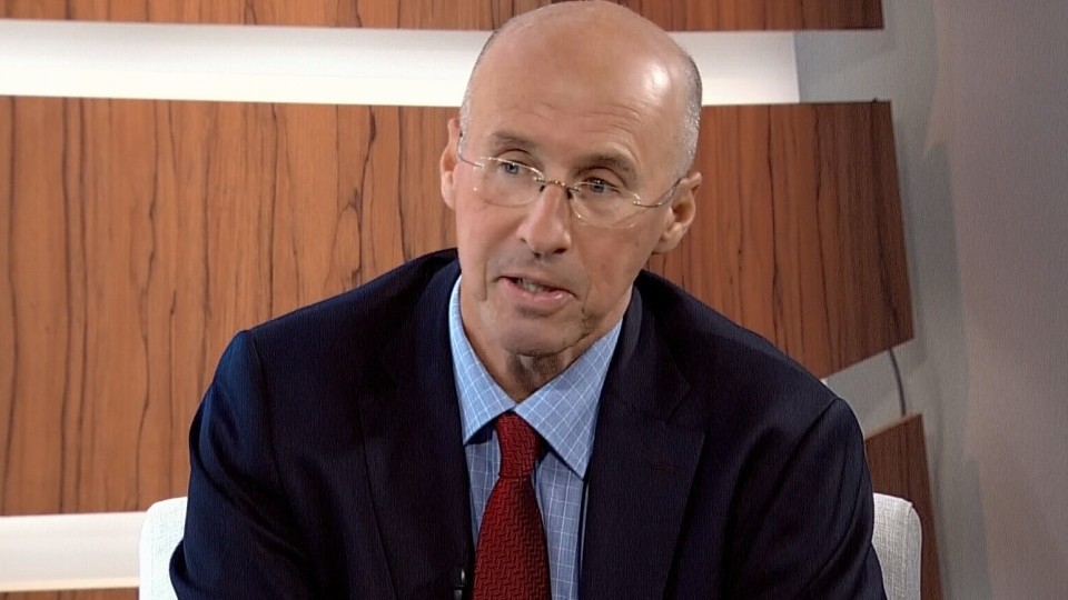 Parliamentary Budget Officer Kevin Page appears on CTV's Question Period on Sunday, Oct. 7, 2012.