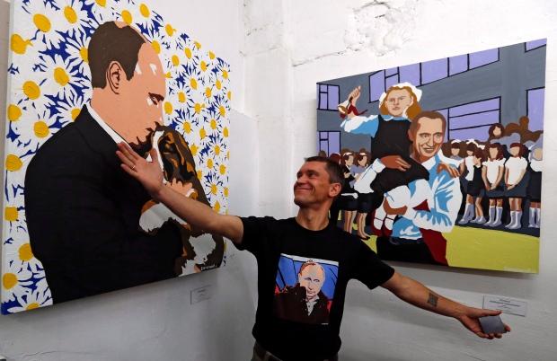 Artist Alexei Sergiyenko