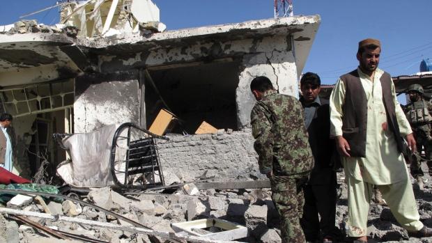 Afghaistan bombing