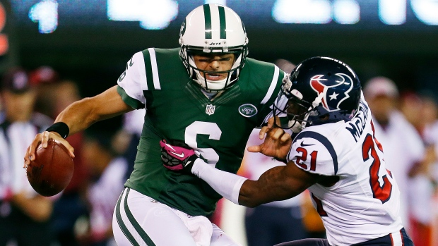 New York Jets quarterback Mark Sanchez