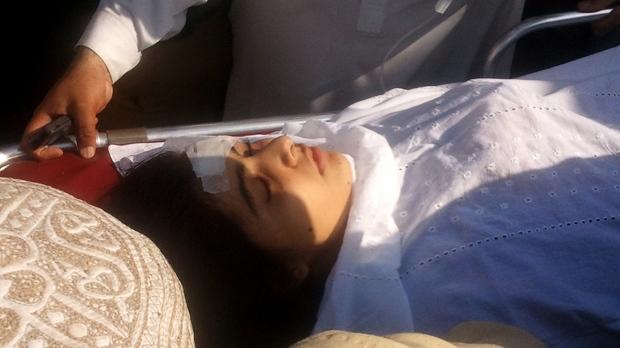 Activist Malala Yousufzai shot wounded Taliban