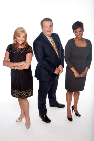 Hosts Beverly Thomson and Marci Ien, along with Jeff Hutcheson